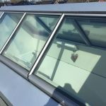 VitraLIght - unser Oberlicht für das Flachdach - Aussenansicht mit Blick ins Innere