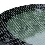SkyVision CIRCULAR - rundes Flachdachfenster mit rutschfestem Siebdruck Nahaufnahme