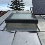 SkyVision FIXED - festverglastes Oberlicht auf einem geneigten Flachdach