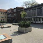 SkyVision WALK ON - begehbares Glas auf Schulhof
