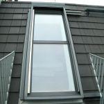 Dachschiebefenster DS - zweiteilig geschlossen terrasse