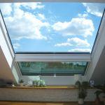 Dachschiebefenster DS - zweiteilig geschlossen