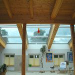 Dachschiebefenster DS - als Flachdachverglasung