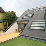 Dachschiebefenster DS - dreiteilig Aussenansicht