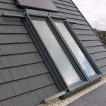 Dachschiebefenster LI - zweiflügelig - dachausstieg