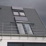 Dachschiebefenster LI - zweiflügelig - Dachausstieg für Dachterrasse