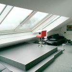 Dachschiebefenster LI - zweiflügelig - als großflächiges Dachfenster