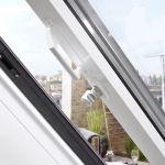 Dachschiebefenster LI - Nahaufnahme Öffnungsmechanismus