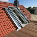 Dachschiebefenster LI - zweiflügelig - Öffnungsvariante auf Schienen