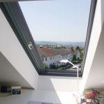 Dachschiebefenster LI - ein-flügel dachschiebefenster als Dachfenster