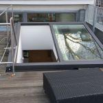 Dachschiebefenster LI - einflügelig - als Terrassenausstiegsfenster