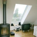 Dachschiebefenster LI - einflügel-schiebefenster - im Wohnraum
