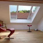Dachschiebefenster LI - zweiflügel-dachschiebefenster - halb geöffnet