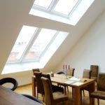 Dachschiebefenster LI - zweiflügel-dachschiebefenster - übereinander mit elektrischer öffnungsvorrichtung