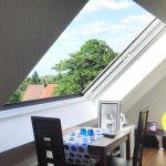 Dachschiebefenster LI - zweiflügel-dachschiebefenster offenes Fenster