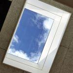 SkyVIsion FIXED - festverglastes Oberlicht mit Blick auf Himmel von Innen