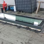 SkyVision FIXED - festverglastes Flachdachfenster Seitenansicht